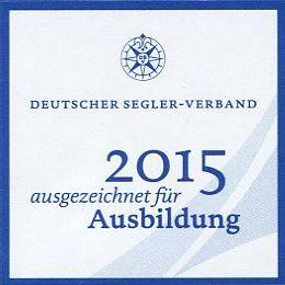 DSV 2015 ausgezeichnet für Ausbildung