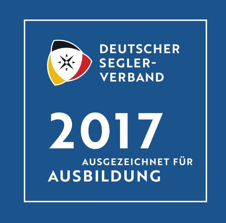 DSV 2017 ausgezeichnet für Ausbildung